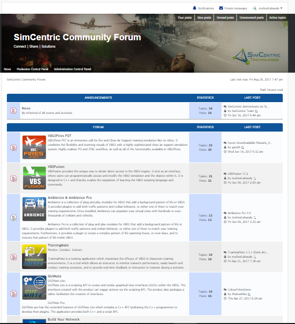 SimCentric launches Global User Community Forum | SimCentric