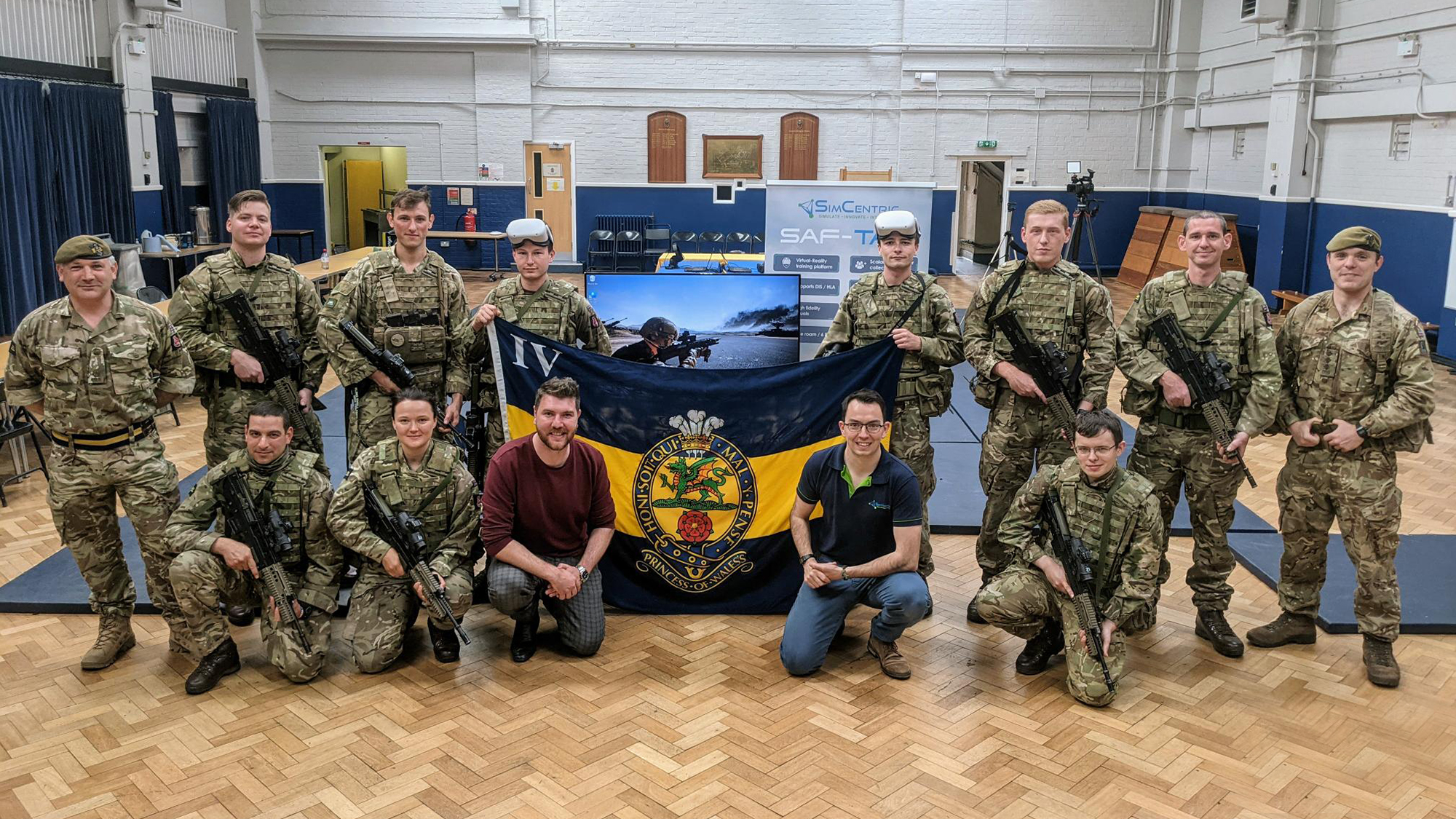 NEWS: SAF-TAC VR TRAINING PROVES A HIT WITH THE BRITISH ARMY